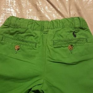Polo by Ralph Lauren boys kelly green cotton pts